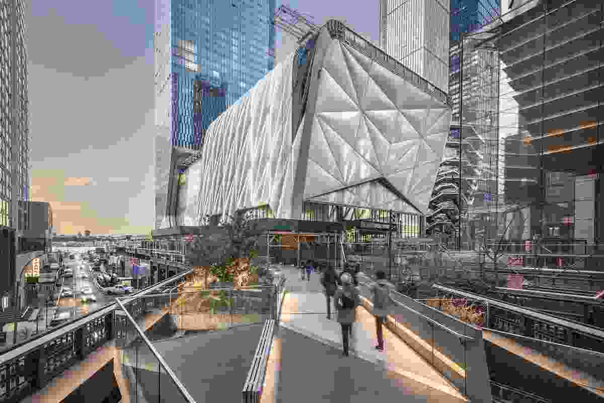 The Shed by Diller Schofidio and Renfro.