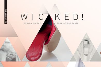 Wicked! Design on the Edge of Bad Taste by K. Bofinger.