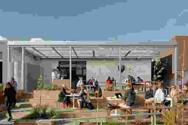 呼吸建筑设计的Ona咖啡。