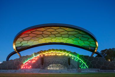 Gold Coast Cultural Precinct Stage and Great Lawn by ARM Architecture.