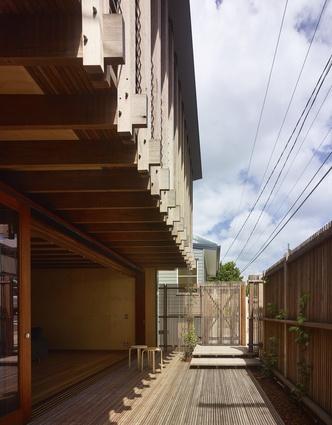 Granville Residence by Richard Kirk Architect.
