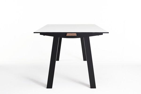 NOMI Dove Table by Tomek Archer in American oak.