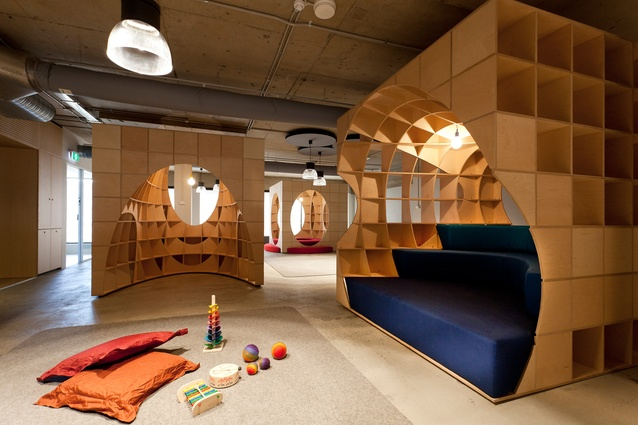 Froebel Play Pods by Silvester Fuller.