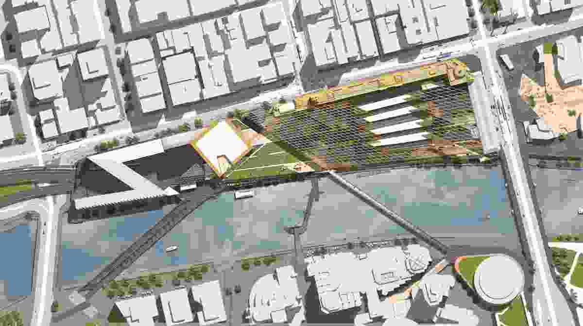 NH Architecture: Precinct masterplan.
