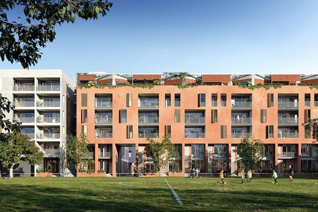 Balfe Park Lane by Kerstin Thompson Architects.