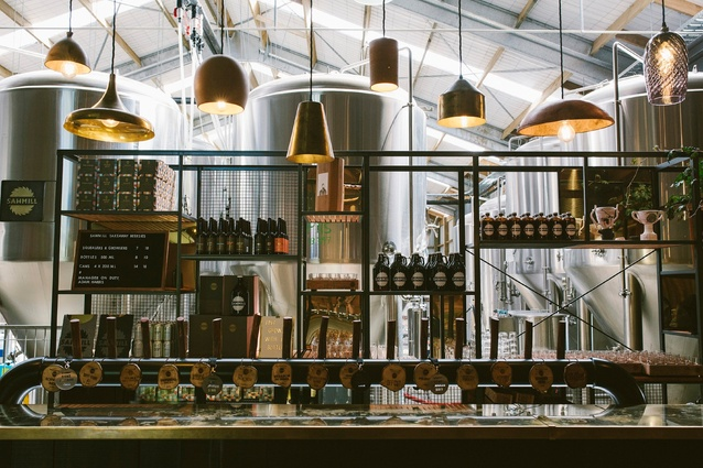 Sawmill Brewery and Smoko Room by Rachel O'Malley and Mike Petre