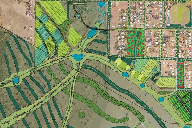 John Mongard Landscape Architects' Bingara Town Strategy.