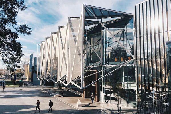 Caulfield Library Monash by John Wardle Architects and TCL Studio.