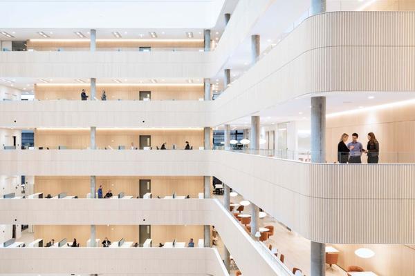Amerika Square office hub in Copenhagen by PLH Arkitekter.