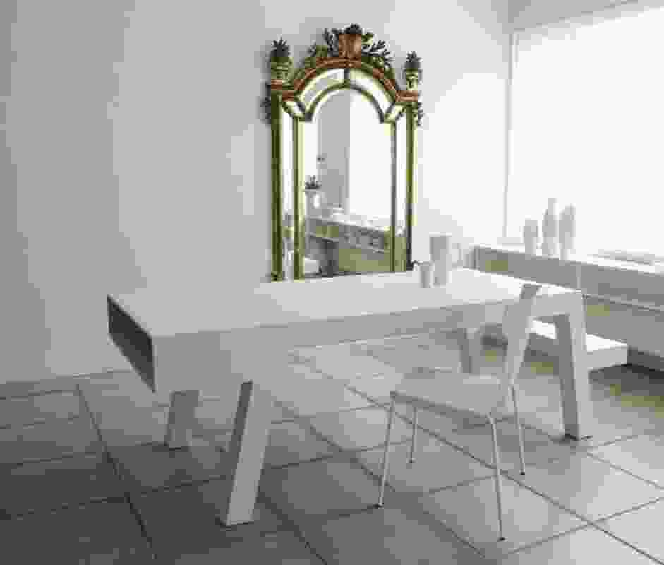 Sofie Lachaert B&B: table by Bram Boo.