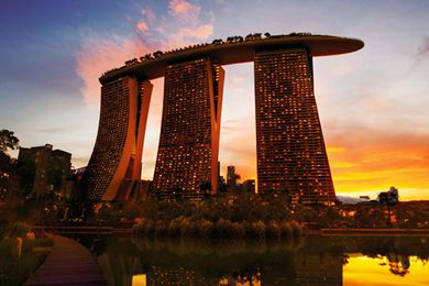 Marina Bay Sands Resort, Singapore.