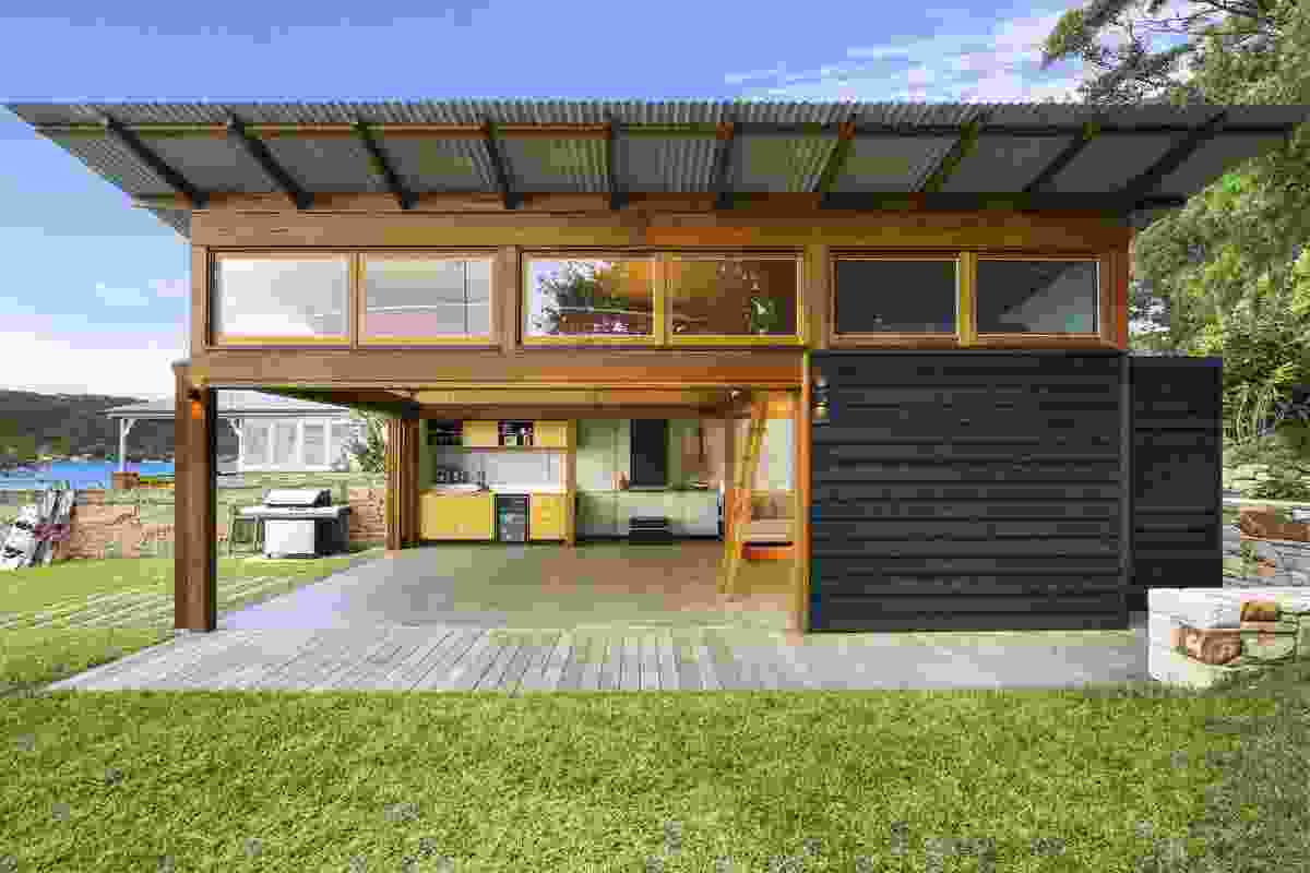 The Boatshed by Sally Morgan Architect with Matt Griffin Designer.