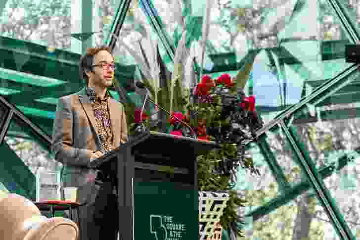 Perth-based academic Julian Bolleter's talk focused on a series of proposals for the city's foreshore produced during the 1990s.