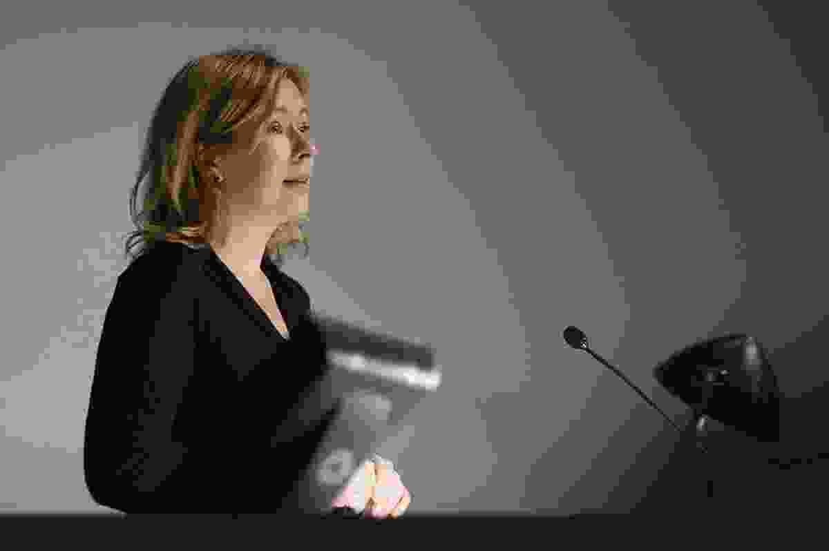 Spanish-American architectural historian and theorist Beatriz Colomina.