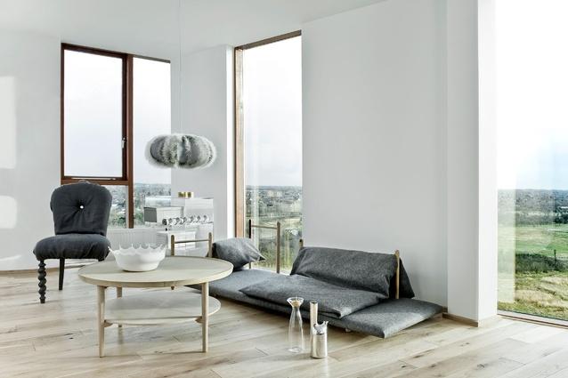 Interior of 8 House by Bjarke Ingels Group.