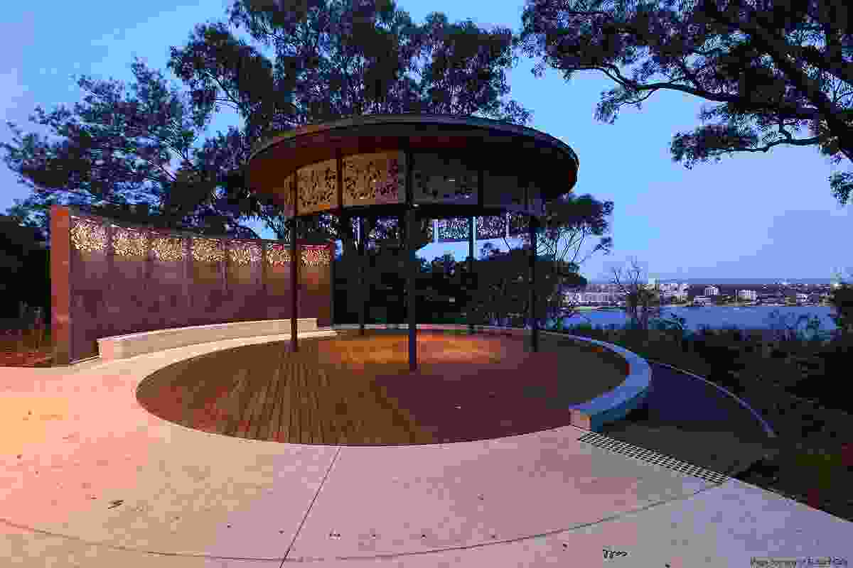 A community gathering space – Kings Park and Botanic Garden by Plan (E).