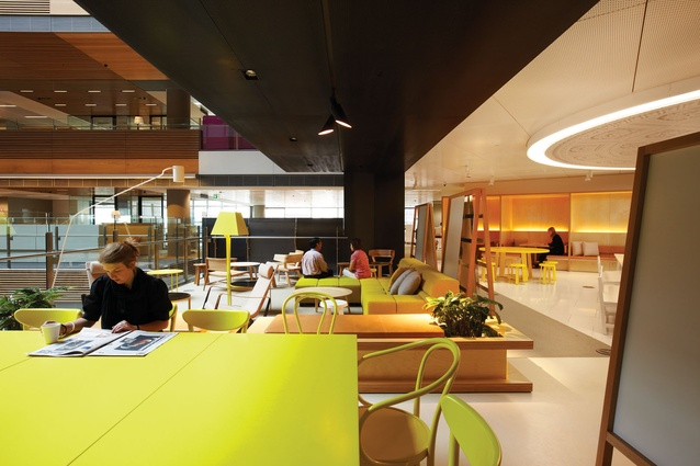 Colour In Commercial Design ANZ Centre By Hassell