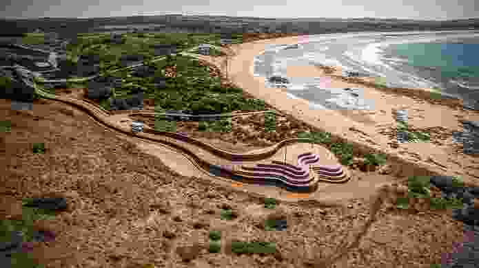 Penguin Plus viewing area by Tract Consultants and Wood Marsh Architecture.