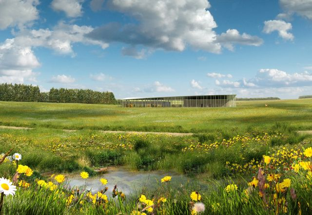 Denton Corker Marshall's design for a new visitor centre at Stonehenge.