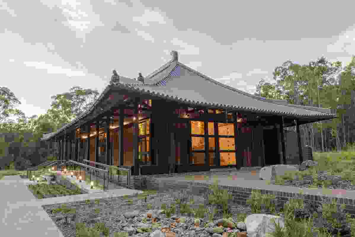 Gold Coast Dharma Realm Shurangama Temple by Push.