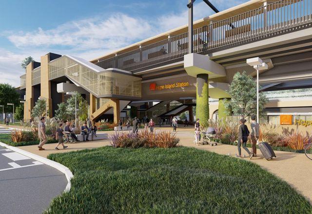 Hope Island Station由Ghd Woodhead与GHD。