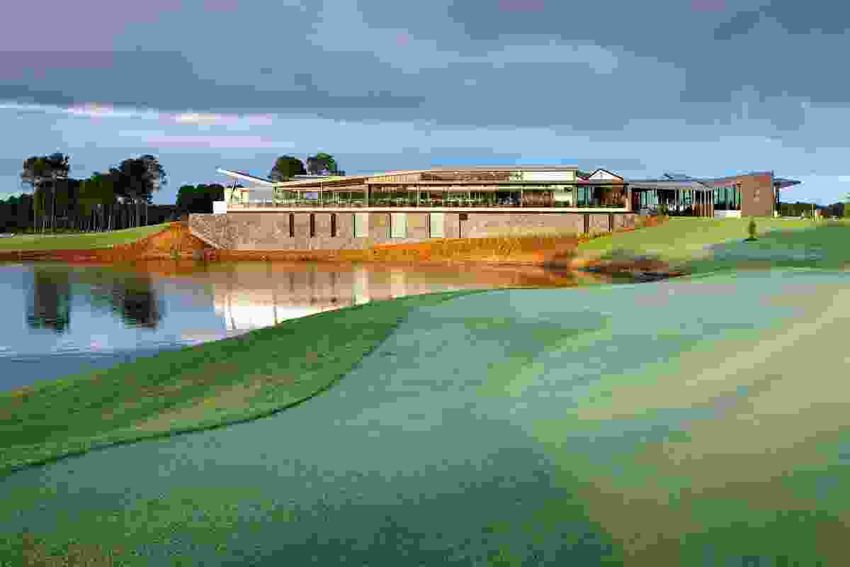 Sanctuary Cove Golf Club by Cox Rayner Architects.