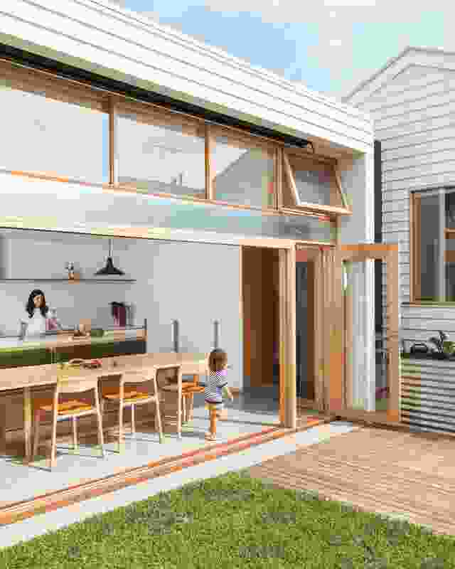 Each house by Olaver Architecture is conceived of as a storyboard for the home's inhabitants.