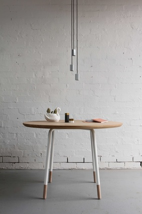 Otway round table and Hex downlight by Archier.