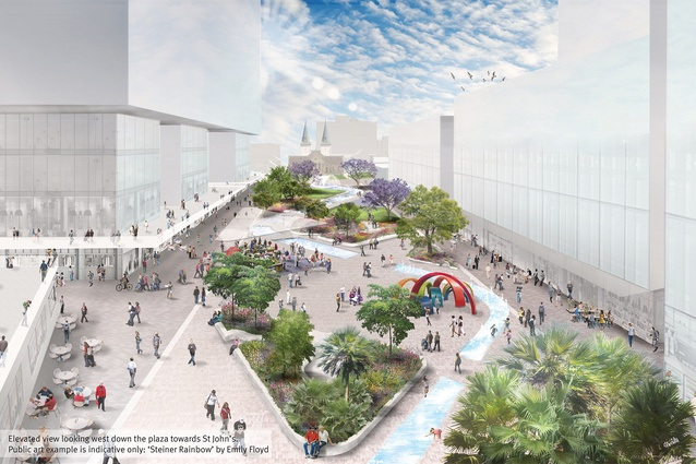 Design Comp For Parramatta Square Centrepiece