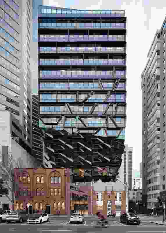 Commendation for Commercial Architecture: 271 Spring Street by John Wardle Architects.