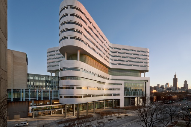 Rush University Medical Center Campus Transformation, Chicago, Illinois by Perkins+Will.