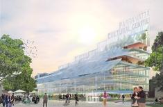 Crystalline 'giant stair' of Parramatta: Manuelle Gautrand