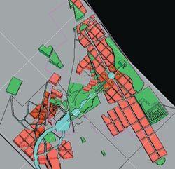Chris Elliott's Visions for Green Square, residential.
