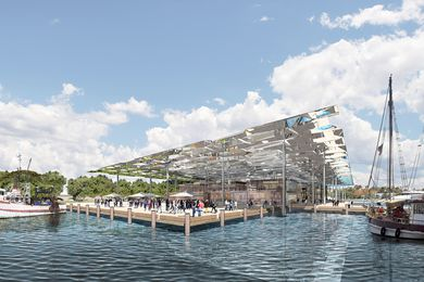 Sydney Fish Markets reference design by Allen Jack and Cottier and NH Architecture, winner of the 2017 Future Project of the Year Award.