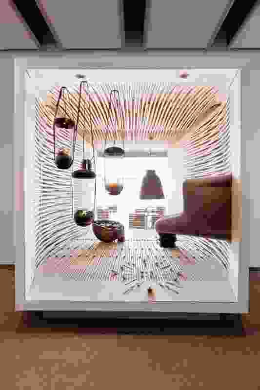 Pragmatism window by Claus Pryds and Karen Bennicke.