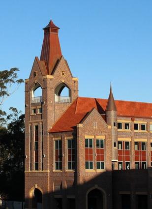 Knox Grammar - Knox Senior Study Academy (NSW) by JSA Studio.