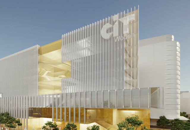 A design option for the CIT Woden campus.