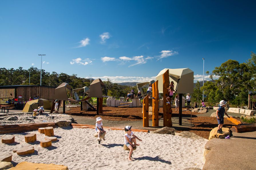 Hobart Legacy Park Community Hub by Playce