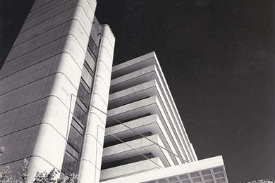 The former TAB building by Geoffrey Pie (cropped).