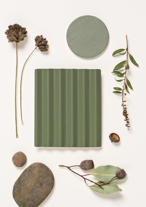 Mangrove – a new direction in green, with an olive/grey/eucalypt tone.