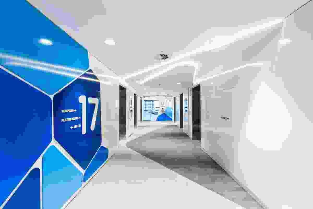 Unilever Sydney CBD by ODCM.