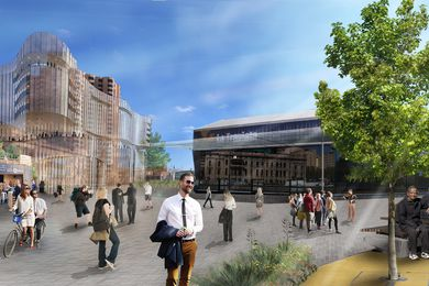 The proposed upgrade to the Adelaide Festival Centre.