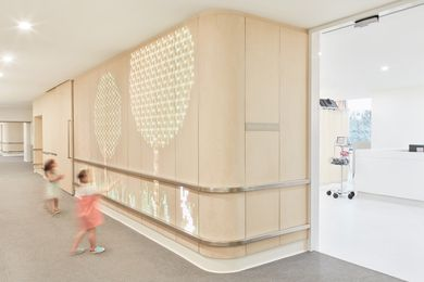 Cabrini Paediatric Ward by DesignInc with ENESS.