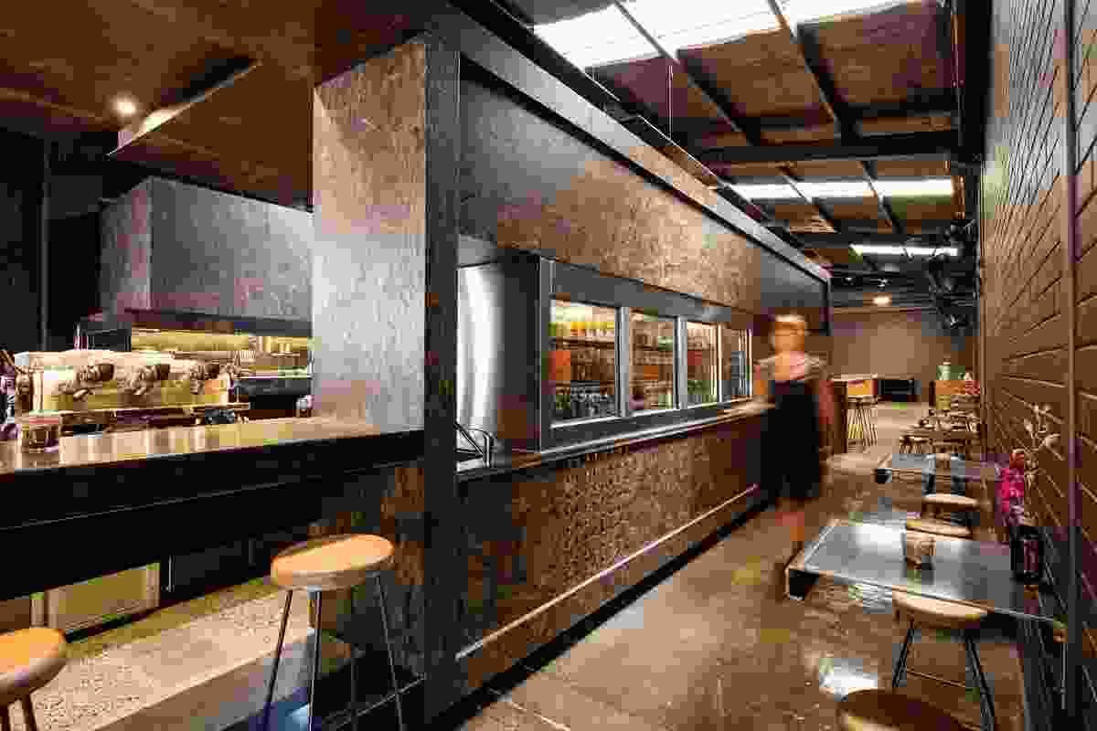 Code Black Coffee by Zwei Interiors Architecture.