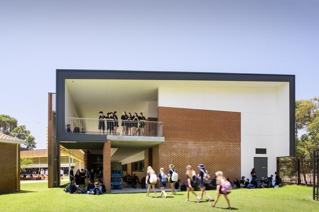 Churchlands Senior High School, Year 7 Integration into Senior High School Project by Bateman Architects.