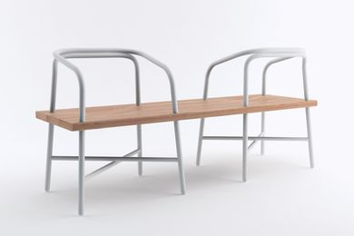 Multimodal seating inspired the design of the Table, Bench, Chair (2009) by Sam Hecht of Industrial Facility.