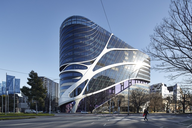 Victorian Comprehensive Cancer Centre (Vic) by STHDI and MCR (Silver Thomas Hanley, DesignInc and McBride Charles Ryan).