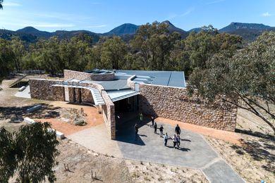 Warrumbungle Visitors Centre by Tanner Kibble Denton.
