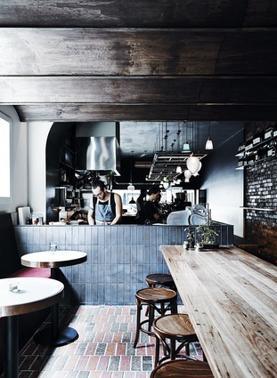 Heart Attack and Vine Cafe (Carlton,Victoria) by Nicky Adams in collaboration with Perarchitects.