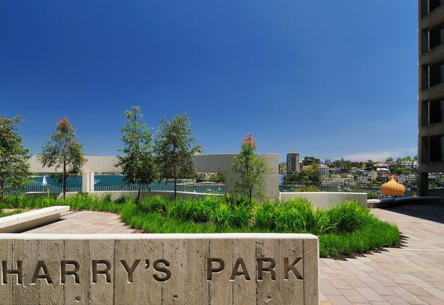 Harry's Park in Milsons Point, by Harry Seidler and Associates.